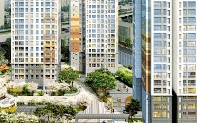 수원 인계동 동문굿모닝힐, 인계 3호공원을 정원으로 … '숲세권 아파트'