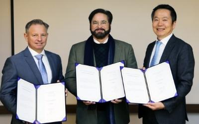 새만금관광레저, 인공호수 개발업체 크리스탈 라군과 사업 파트너십 체결