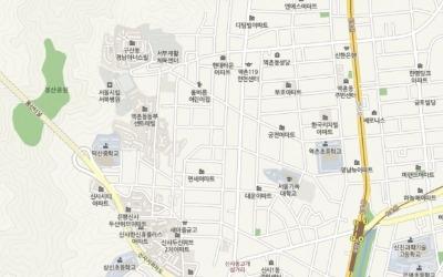 봉산공원 인근 은평구 역촌동 동부센트레빌