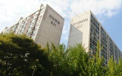단지 안에 하천 흐르는 '장미마을현대아파트'