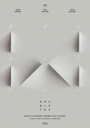뉴이스트 W, 3월 단독 콘서트 '더블 유' 개최...예매 전쟁 예고