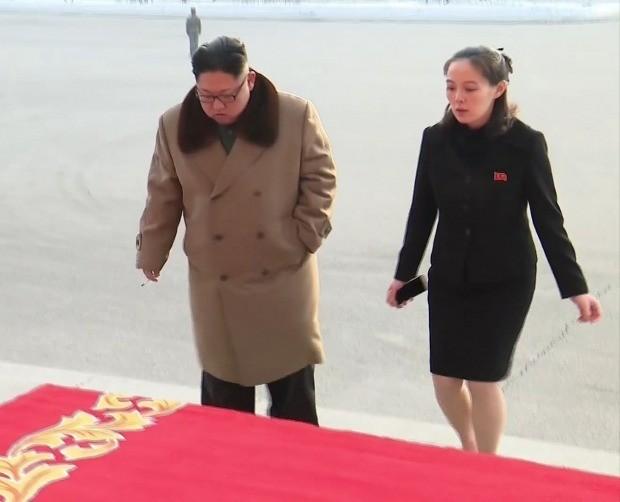 北 고위급대표단에 포함된 김여정 /사진=연합뉴스