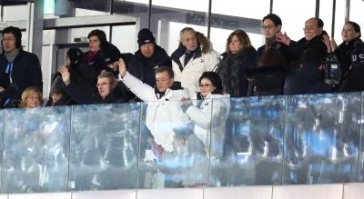 문 대통령, 평창 동계올림픽 개회 선언…'지구촌 겨울축제' 시작