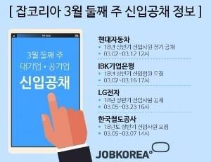 현대차·LG·코레일·기업은행 등 상반기 신입공채