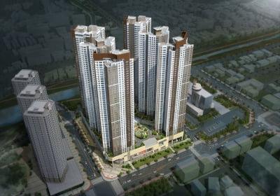 춘천 센트럴타워 푸르지오, 49층 랜드마크 1175가구 공급