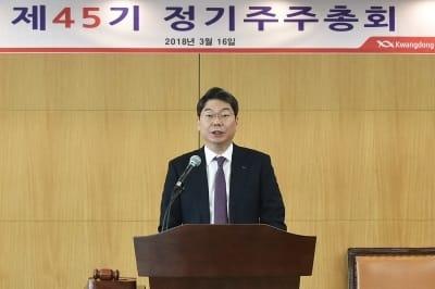 """최성원 광동제약 대표 """"올해 매출 목표 12% 성장한 7721억원"""""""