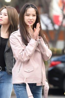 CLC 최유진, '유진이 꽃이 피었습니다~'