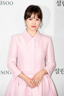송혜교, '자체발광 그녀'