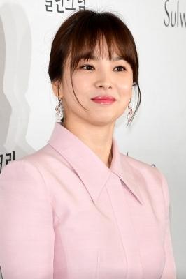 송혜교, '봄을 알리는 미모'