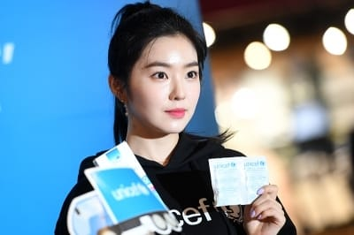 레드벨벳 아이린, '유니세프도 인정한 청초한 미모'