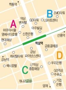 역삼역 사거리 상권 중소형 빌딩 실거래 사례 및 추천매물