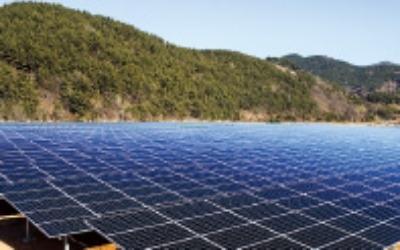 태양광 발전에 필요한 땅, 원전의 22배