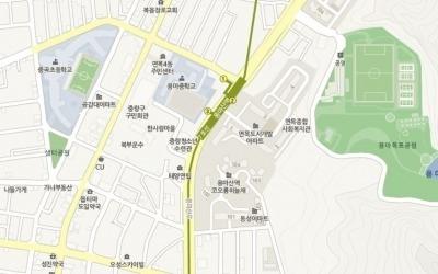 배산임 '지하철'… 면목동 '용마산역 코오롱하늘채'