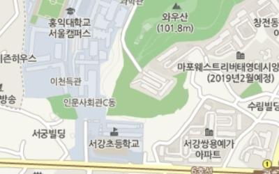 지하철 6호선 광흥창역 옆 '서강쌍용예가'