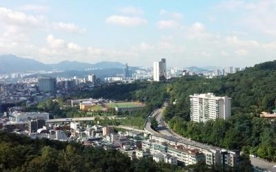 리모델링 추진 시동거는 신당동 '남산타운'