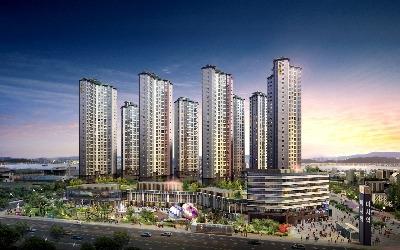 동양건설산업, 하남 미사강변도시에 미사역 파라곤과 파라곤 스퀘어 공급