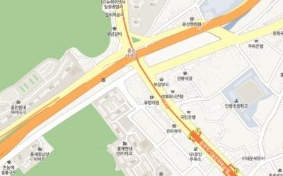 홍제천·내부순환 홍제IC 가까운 홍제 '현대 아이파크'