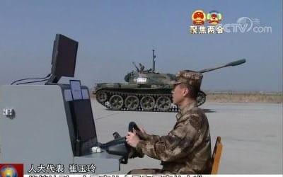 중국 무인탱크 개발 시험중…구형전차 개조해 재활용