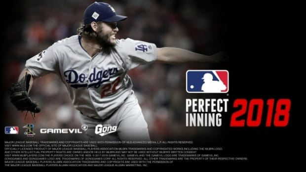 게임빌, 'MLB 퍼펙트 이닝 2018' 구글·애플 서비스