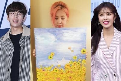 솔비는 그림·바다는 노래로…세월호 4주기 추모하는 ★