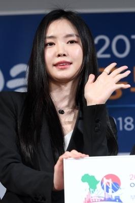 에이핑크 손나은, '활짝 핀 미모'