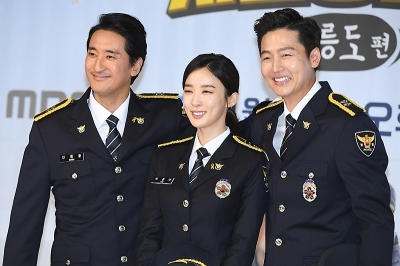신현준-이청아-이정진, '오대환 없이 환한 미소~'