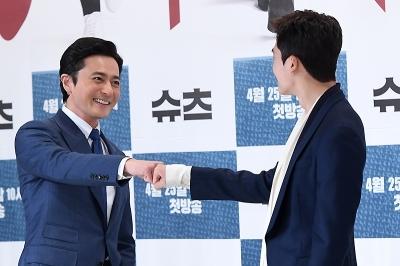 장동건-박형식, '멋진 두 남자의 만남'