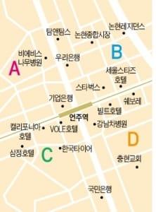 언주역 사거리 상권 중소형 빌딩 실거래 사례 분석