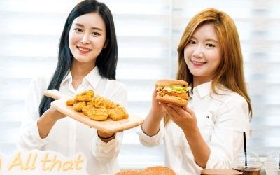 맘스터치, 글로벌 입맛까지 사로잡은 '통살 치킨버거'