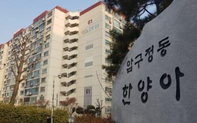 강남구 부자동네 대표단지 '압구정한양'