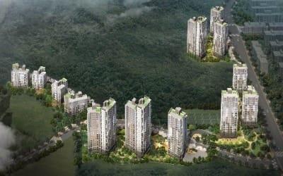 [얼마집] 공원 둘러 쌓인 '숲세권'… 상일동 '고덕숲아이파크'