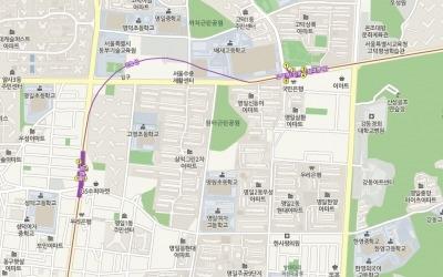 5호선 고덕역 초역세권 '명일신동아'