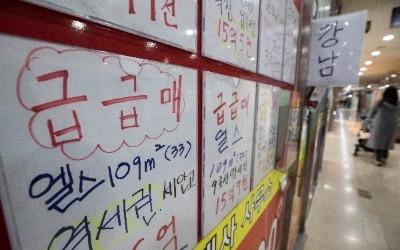 '양도세 중과'에 아파트 거래시장 빙하기…강남권 반토막