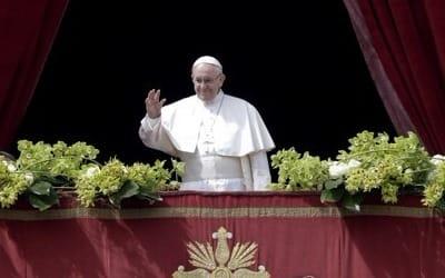 """교황 """"한반도 대화, 결실 보길… 화해·평화 진전 소망"""""""