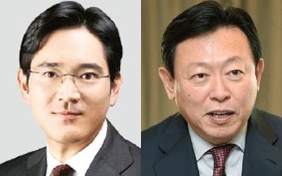 공정위, 이재용·신동빈 '총수' 지정