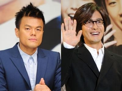 박진영·배용준, 구원파 집회 참석…디스패치 포착