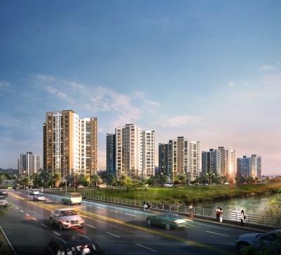 현대산업개발·대림산업 '서신 아이파크 e편한세상' 3일 1순위 청약