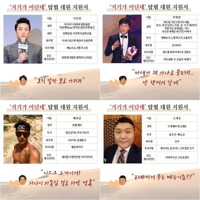 유호진PD 새 탐험예능 KBS2 '거기가 어딘데' 출연진 살펴보니