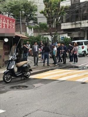 '고독한 미식가' 마츠시게 유타카, 한국서 포착…선택받은 맛집 어디?