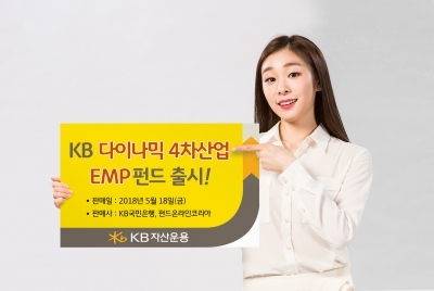 KB자산운용, KB다이나믹4차산업EMP펀드 출시