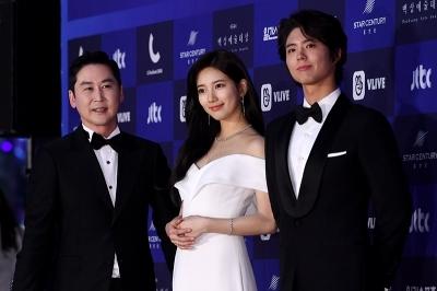 신동엽-수지-박보검, '화려한 MC 3인방'(백상예술대상)