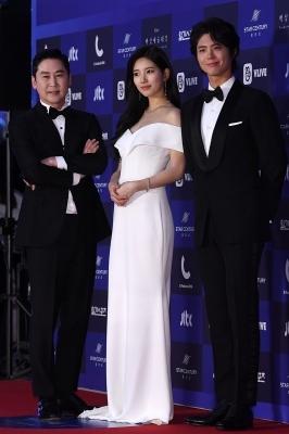 신동엽-수지-박보검, '국가대표 MC 3인방'(백상예술대상)