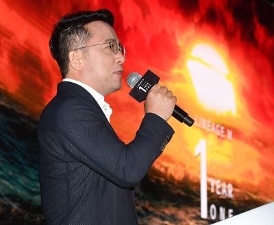 리니지M 1주년 기념 인사하는  김택진 대표