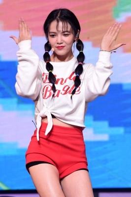 AOA 지민, '깜찍한 양갈래 머리'
