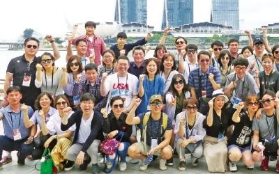 [Cover Story-동양건설산업] 배려와 감사의 마음 담아… 직원·가족 함께 떠난 싱가포르 연수