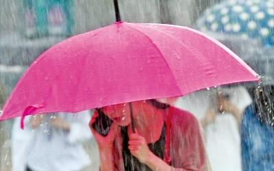 서울 수도권에 폭우