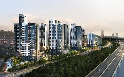 전용 59㎡ 입주권 11억… 흑석뉴타운 '아크로리버하임'