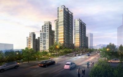 7호선 1분 거리 쌍용예가 아파트, 전용 59㎡ 4억원대 분양