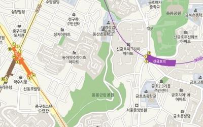 [얼마집] 급매 출현에 호가 하락, 성동구 '신금호파크자이'