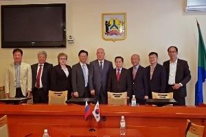 부천시, 러시아 심장병 환아 무료수술 재협약 체결